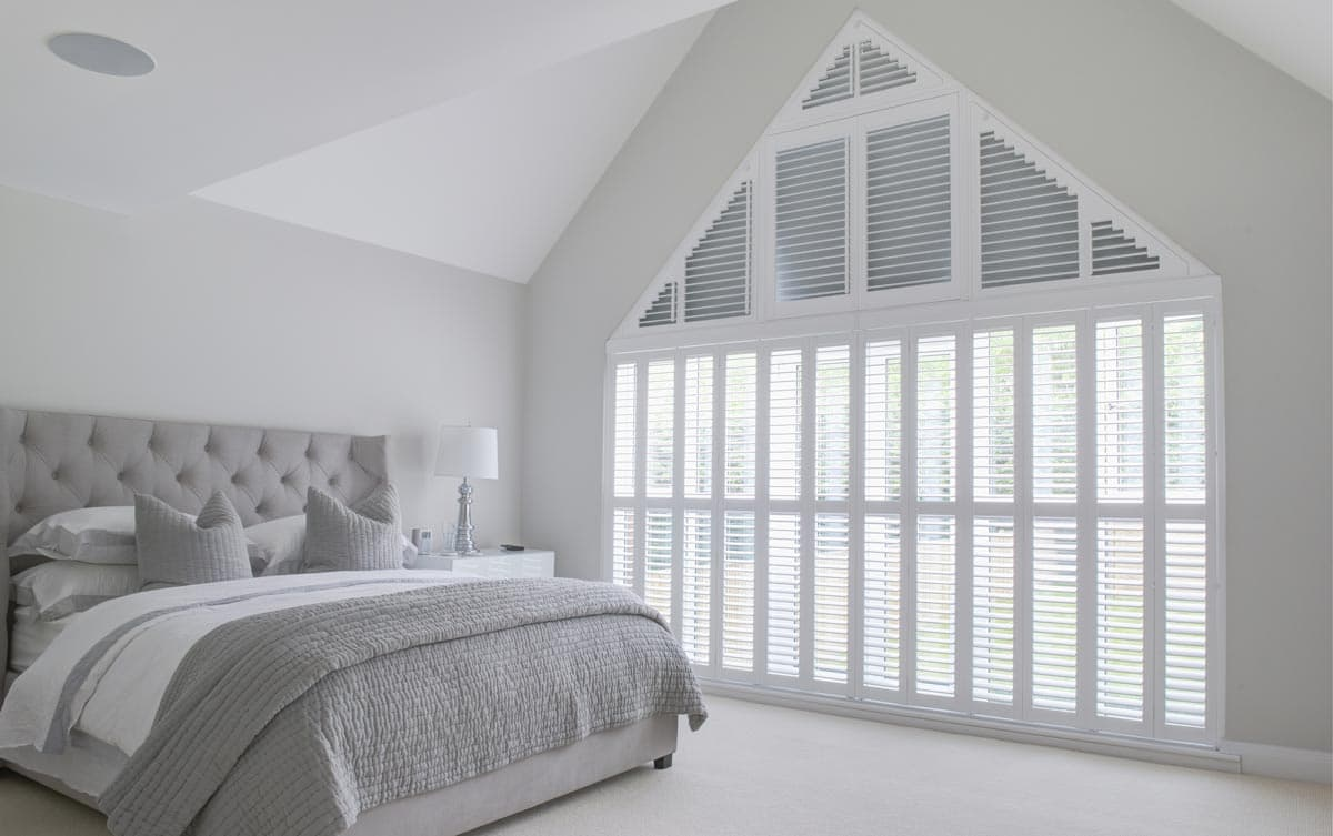 Shaped Wood Shutters