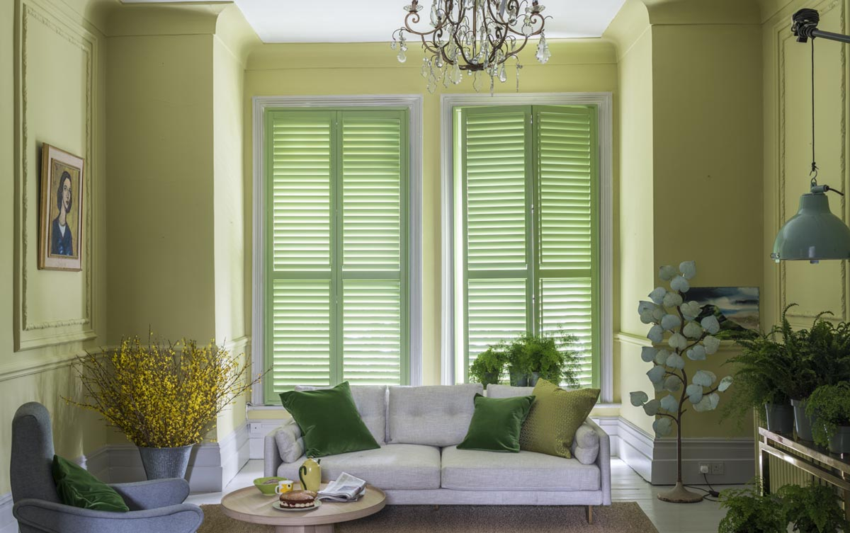 Full Height Painted Shutters