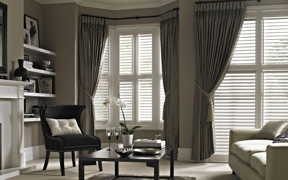 Bay Window Shutters Made To Measure With Thomas Sanderson