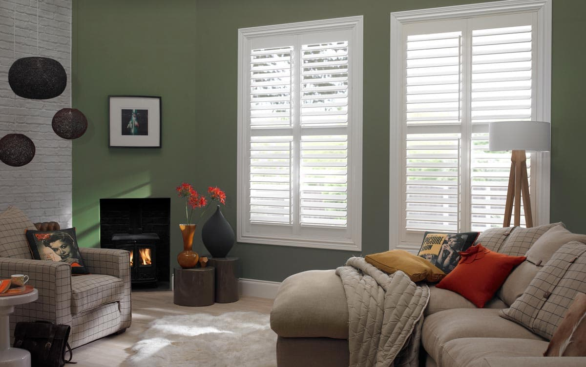 Classic Living Room Shutters