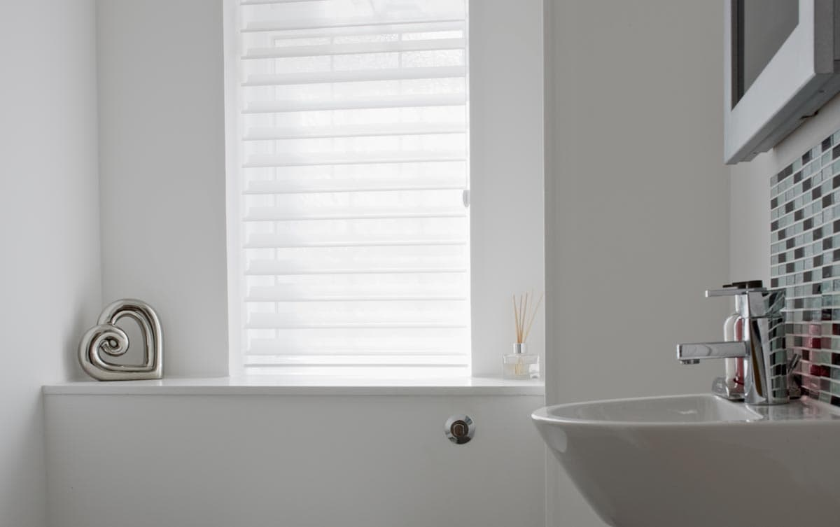 Silhouette Bathroom Blinds