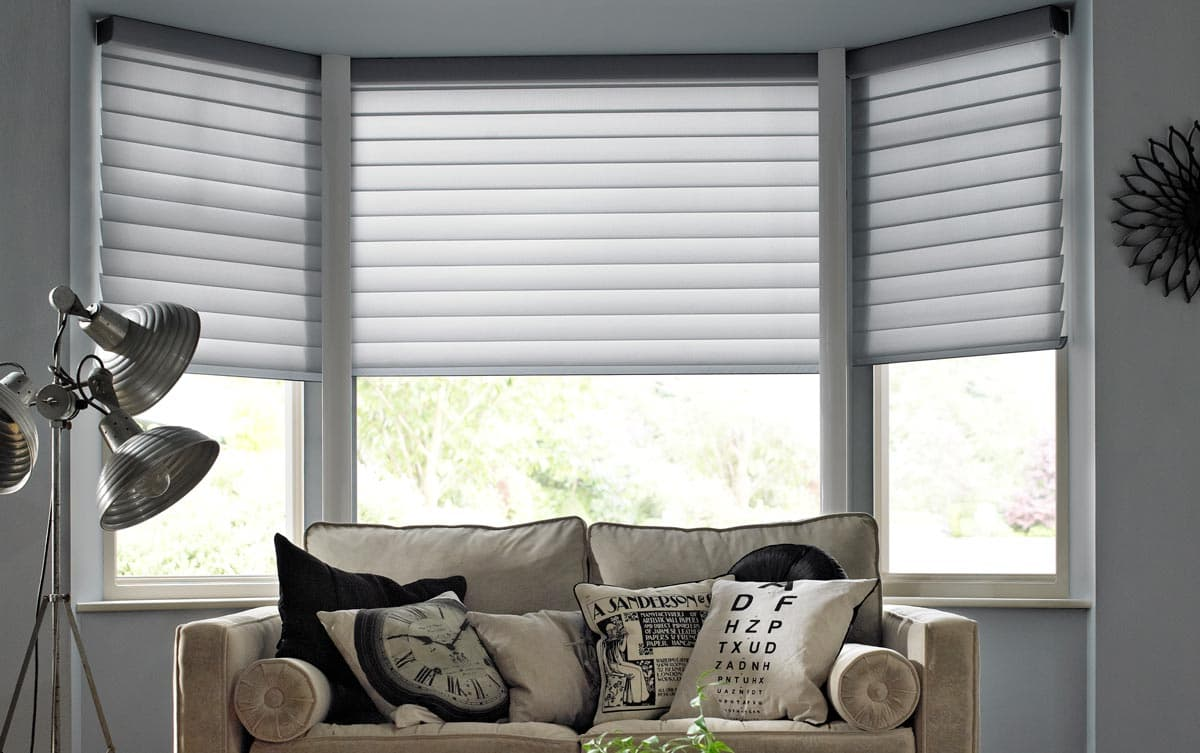 Bay Window Silhouette Blinds