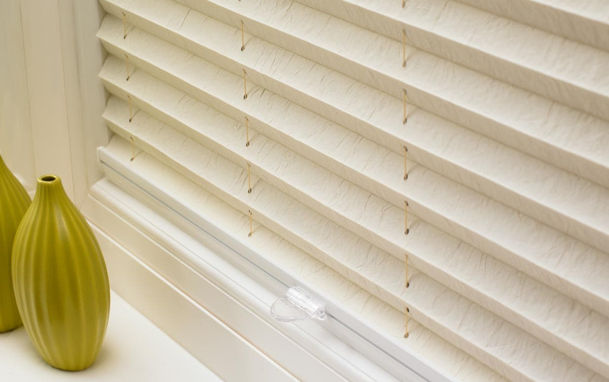 Powered Pleated Blinds