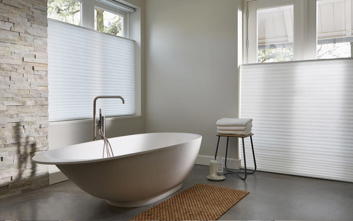 Duette blinds thermal insulated blinds from thomas sanderson - Best blinds for bathroom privacy ...