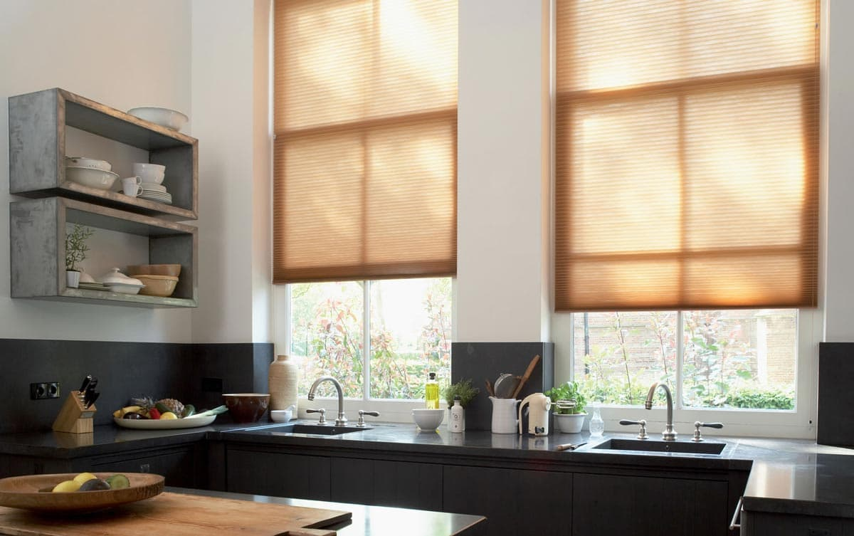 Duette Blinds in the Kitchen