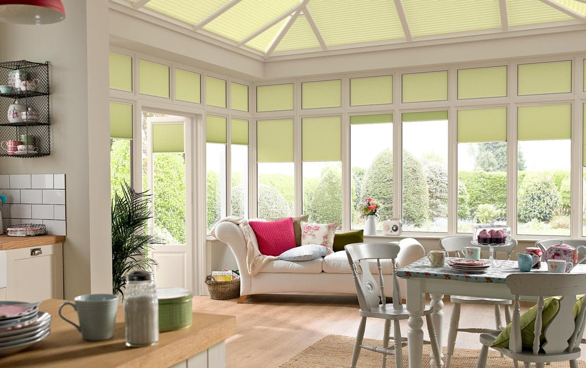 Blinds in Orangery