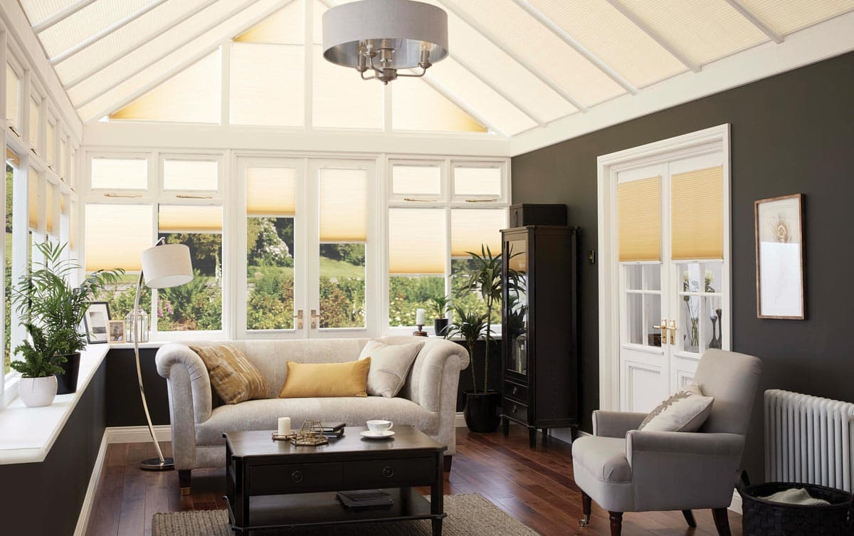 Thermal Conservatory Blinds