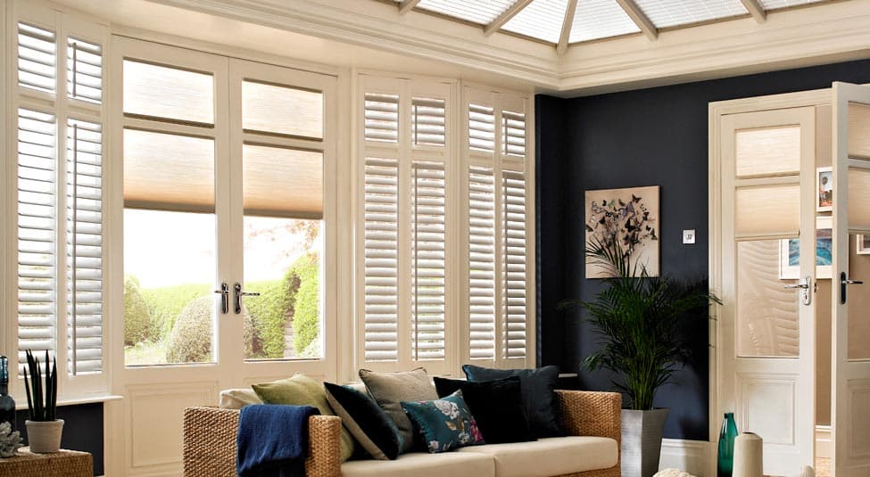 Conservatory Blinds Made To Measure With Thomas Sanderson