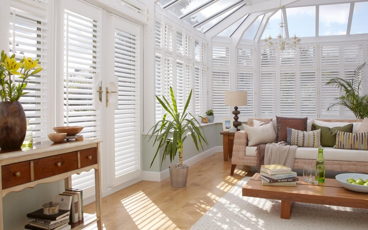 Conservatory Shutters Made To Measure Thomas Sanderson