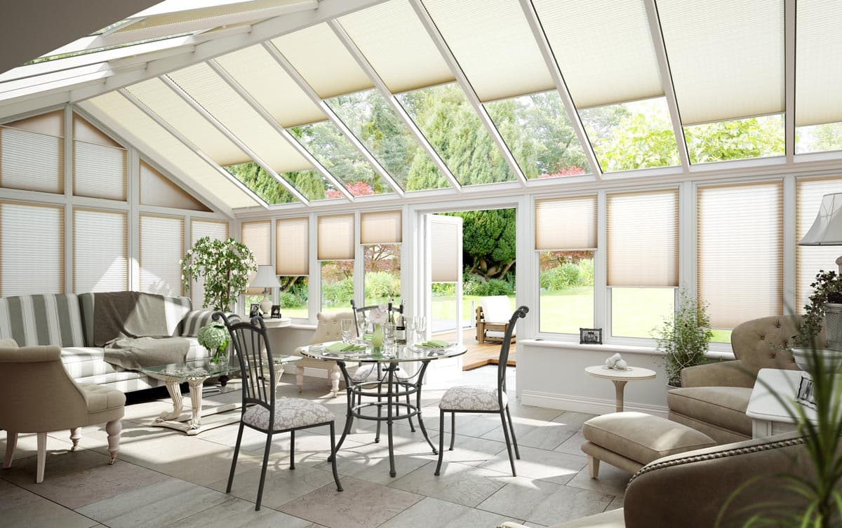 Conservatory Roof Blinds Ceiling Blinds Thomas Sanderson