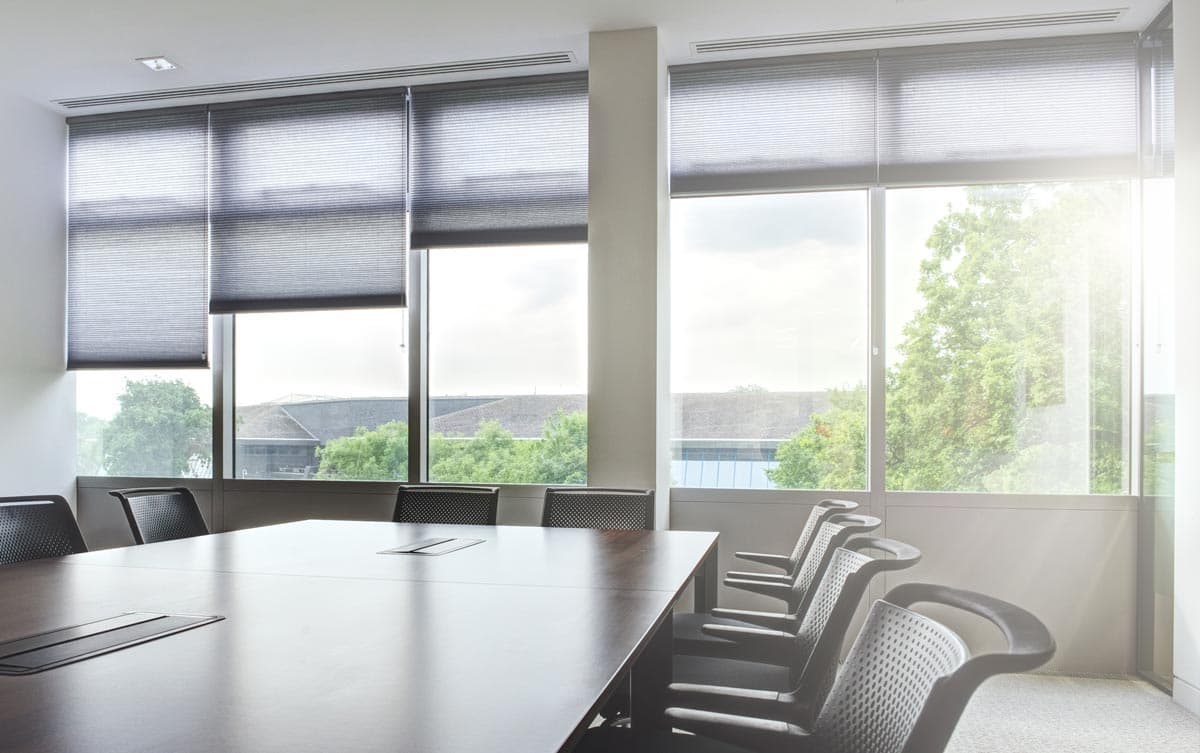 made to measure office blinds