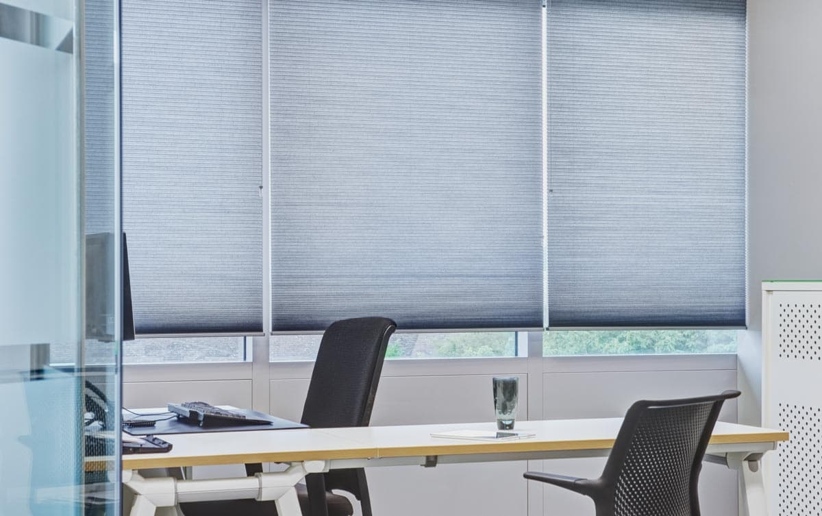 Blinds for commercial premises