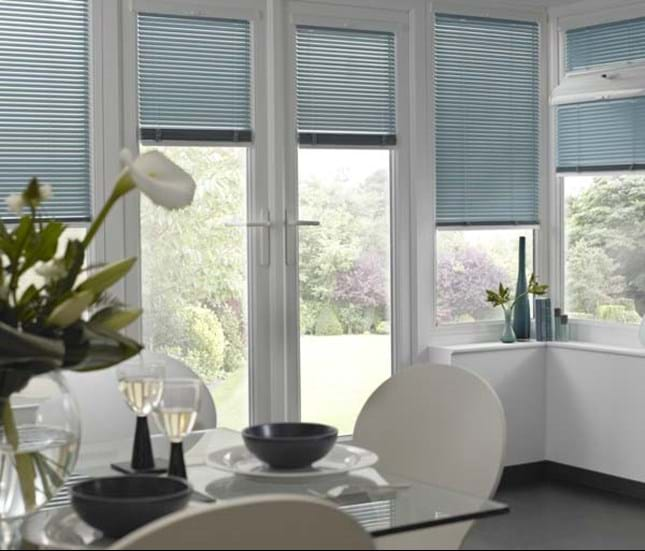 Blinds for french doors thomas sanderson french doors in the kitchen freerunsca Choice Image