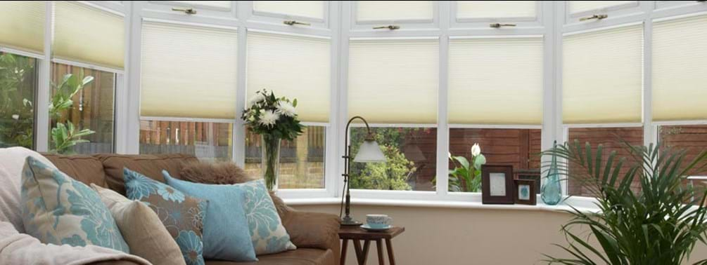 Thermal blinds in conservatory