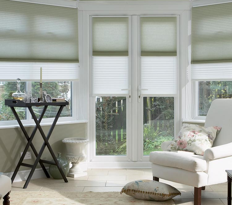 duette blinds thermal insulated blinds from thomas sanderson. Black Bedroom Furniture Sets. Home Design Ideas