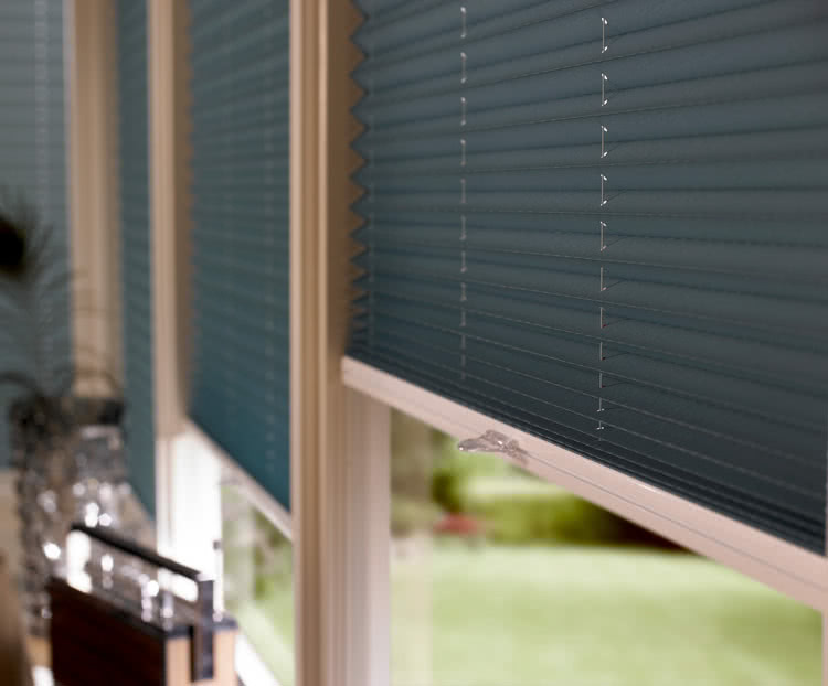 Pleated Blinds Concertina Blinds From Thomas Sanderson