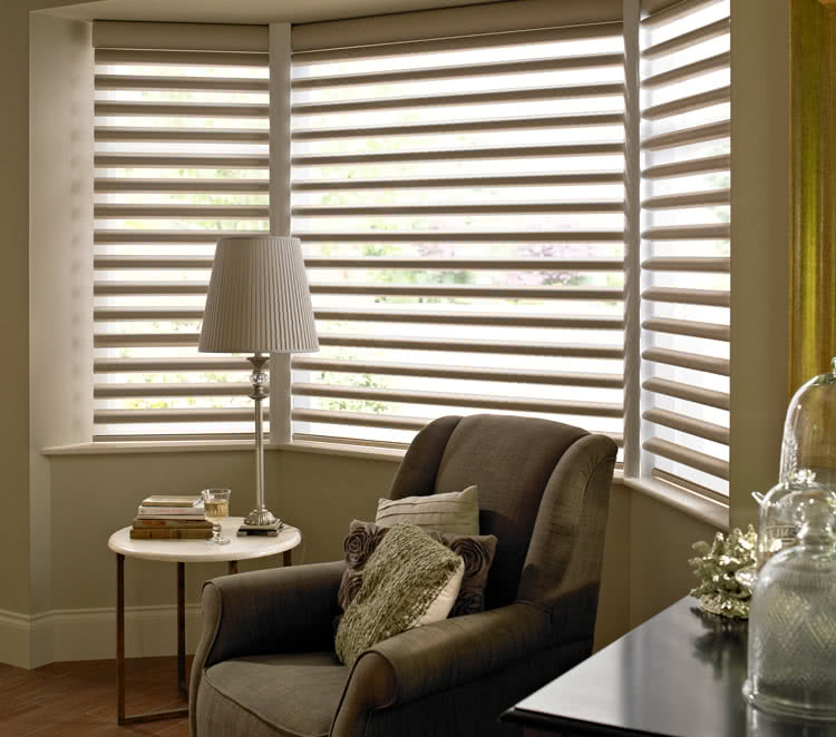 living room blinds made to measure with thomas sanderson. Black Bedroom Furniture Sets. Home Design Ideas