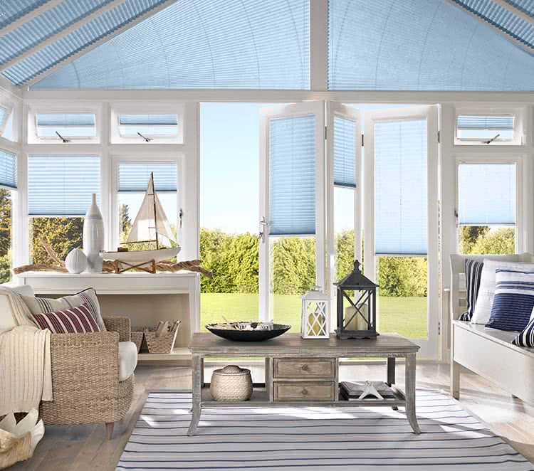 Thomas Sanderson Shutters >> Conservatory Blinds | Made to Measure with Thomas Sanderson