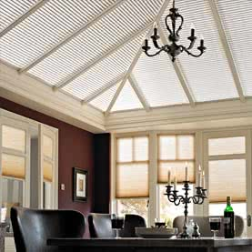 Duette thermal conservatory roof blinds