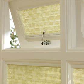 Laura Ashley blinds between glass panes