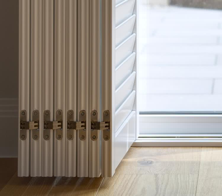 Patio Door Shutters L Made To Measure With Thomas Sanderson