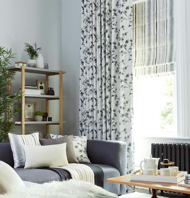 White curtains 20 off made to measure by thomas - Off white curtains for living room ...